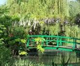 Magicien  27 Pont japonais jardins paysagers Monet