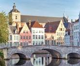 Magicien Belgique Bruges et ses canaux